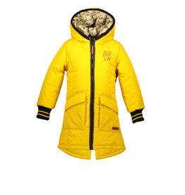 Moodstreet Moodstreet Girls Jacket Long Yellow