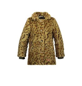 Moodstreet Moodstreet Girls Fur Coat Army