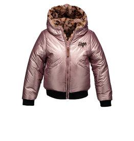 Moodstreet Moodstreet Girls Reversible Jacket Light Pink