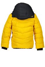 Moodstreet Moodstreet Boys Jacket Contrast Yoke Yellow