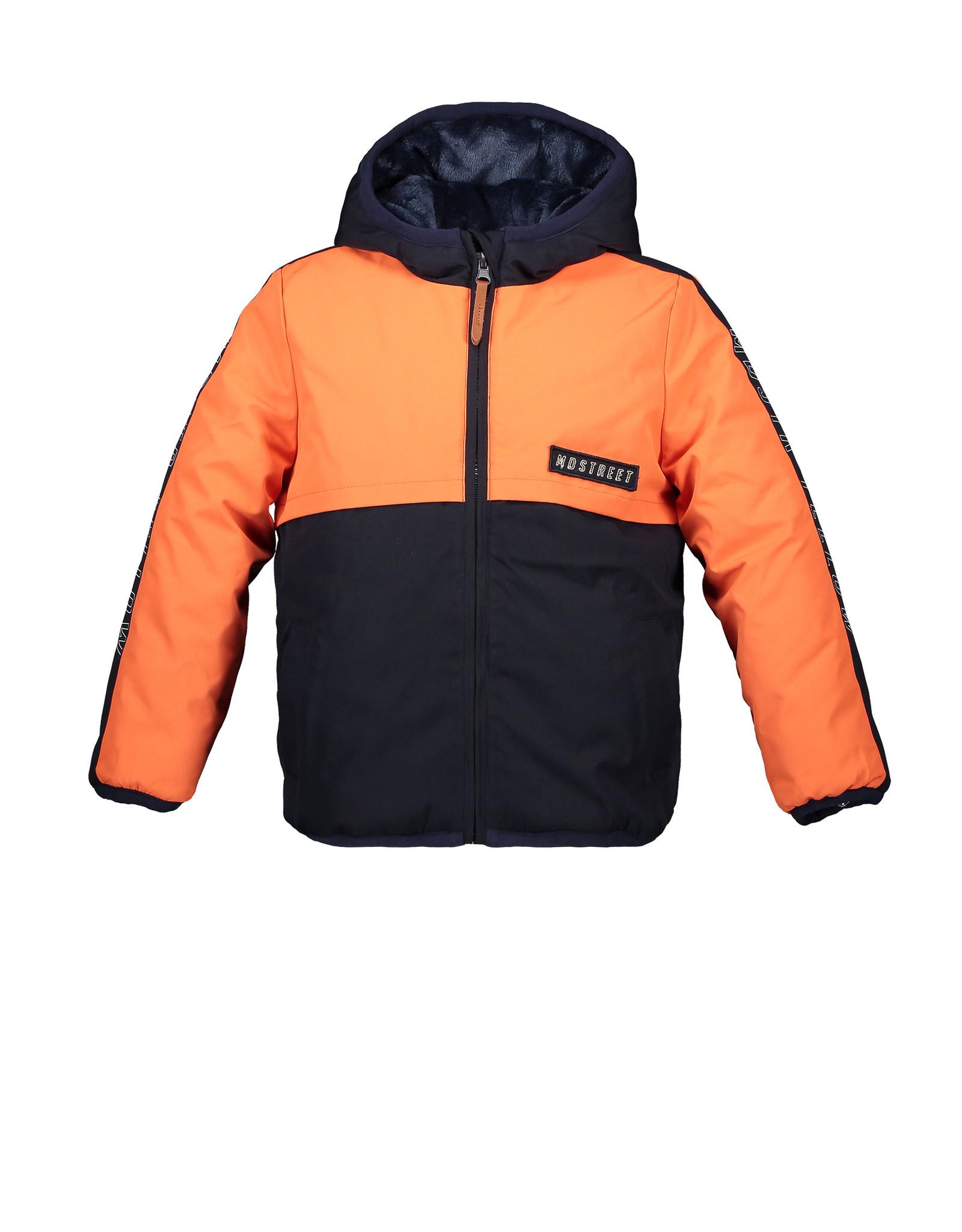Moodstreet Moodstreet Boys Sporty Jacket Navy