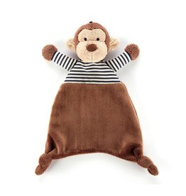 Jellycat Jellycat Stripey Monkey Soother