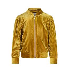 Creamie Creamie Jacket Bomber Velvet- Harvest Gold