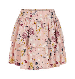 Creamie Creamie Skirt Autumn Flowers-Rose Smoke