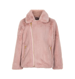 Creamie Creamie Jacket Fake Fur-Deauville Mauve