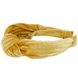 Creamie Creamie Headband Velvet- Harvest Gold