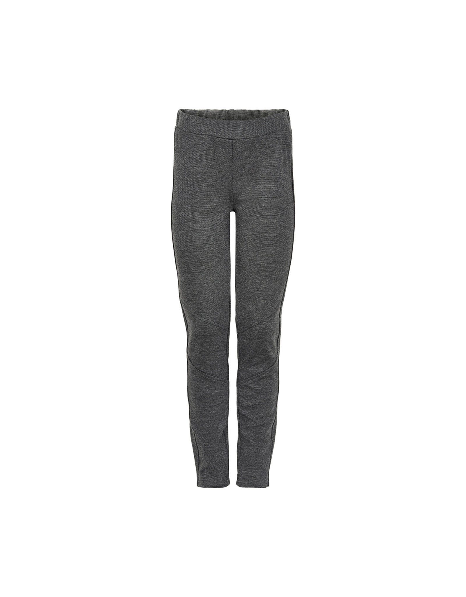 Creamie Creamie Interlock Legging-Dark Grey Melange