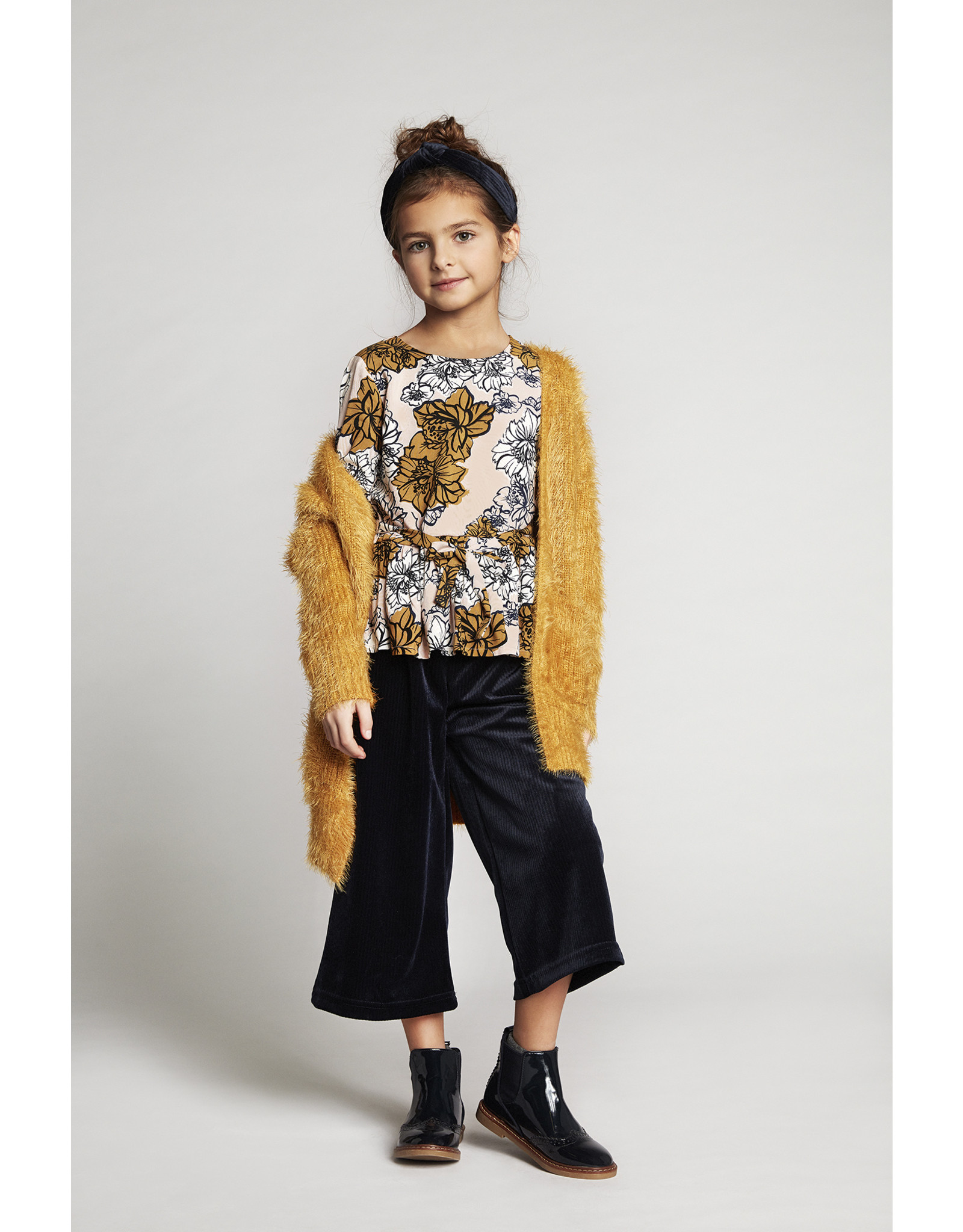 Creamie Creamie Cardigan Long Haired Harvest Gold