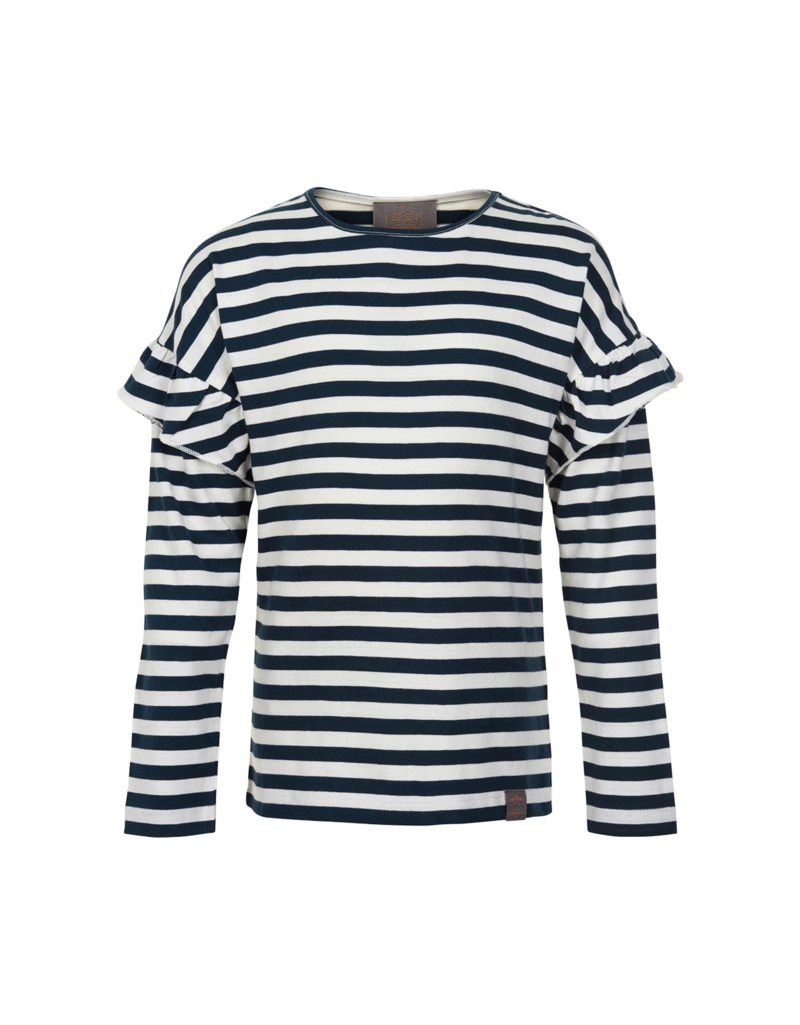 Creamie Creamie T-Shirt Stripe LS-Total Eclipse