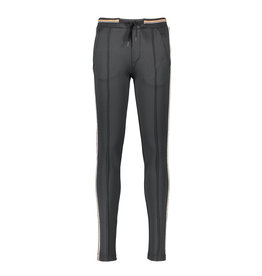 NoBell NoBell-SeclerB Sporty Chique Pants Pintuck-Antracite