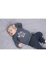 Little Bampidano LB- New Born Trousers Plain-Navy