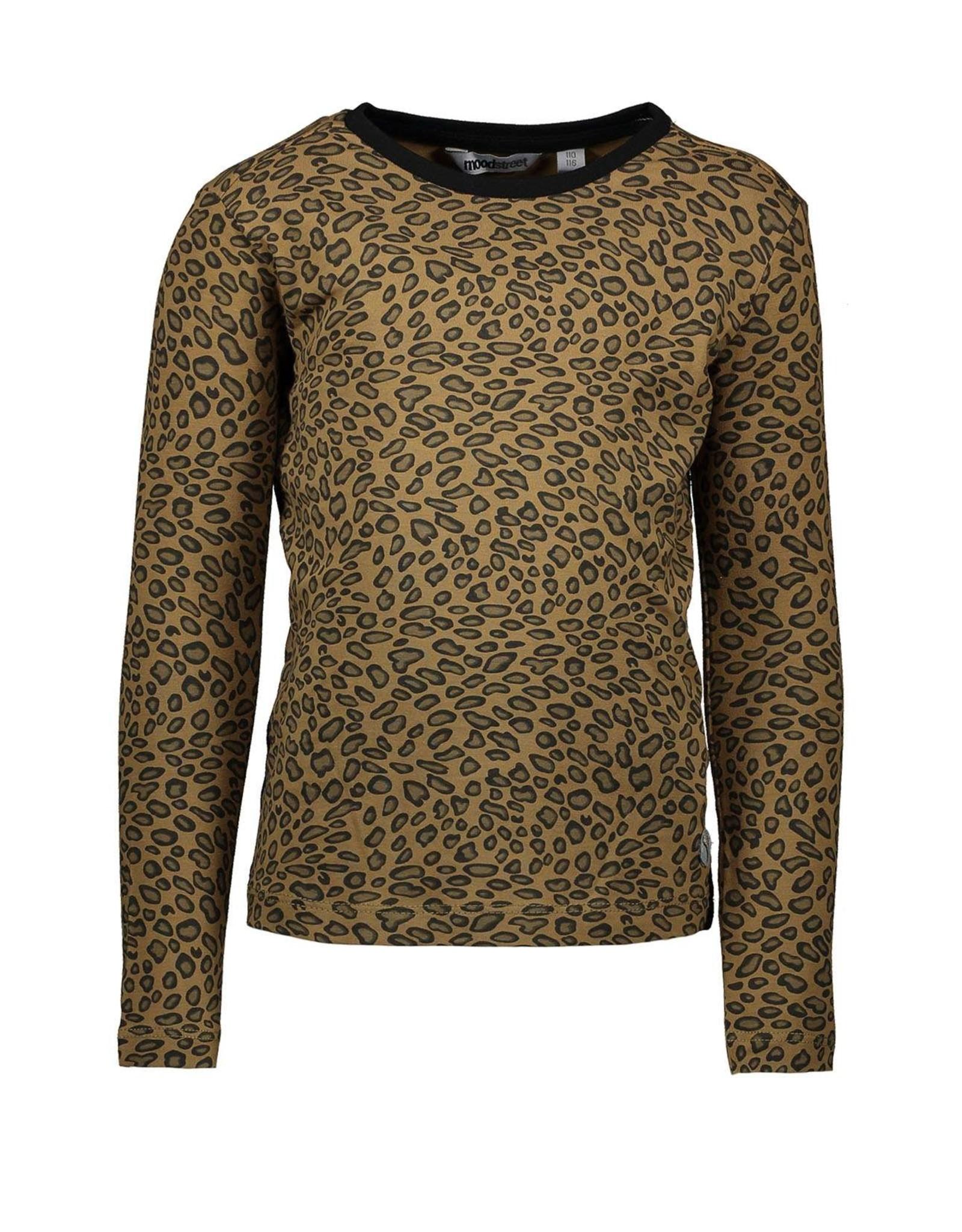Moodstreet Moodstreet-MT AOP-T Shirt-Leopard