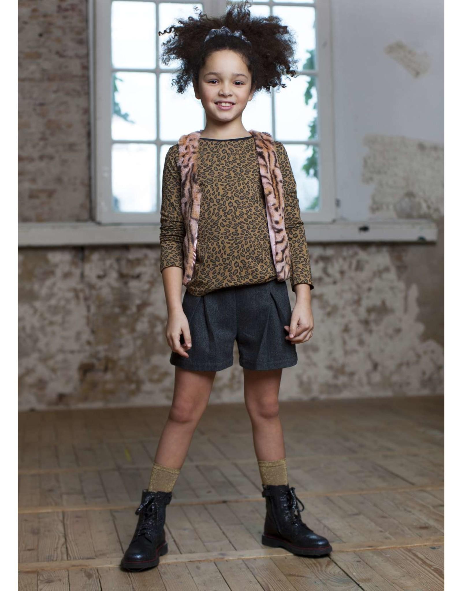 Moodstreet Moodstreet- MT Skirtpants-Black