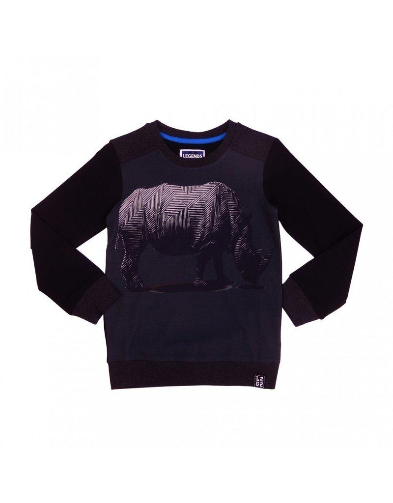 Legends Legends22 Sweater Rhino Dark grey