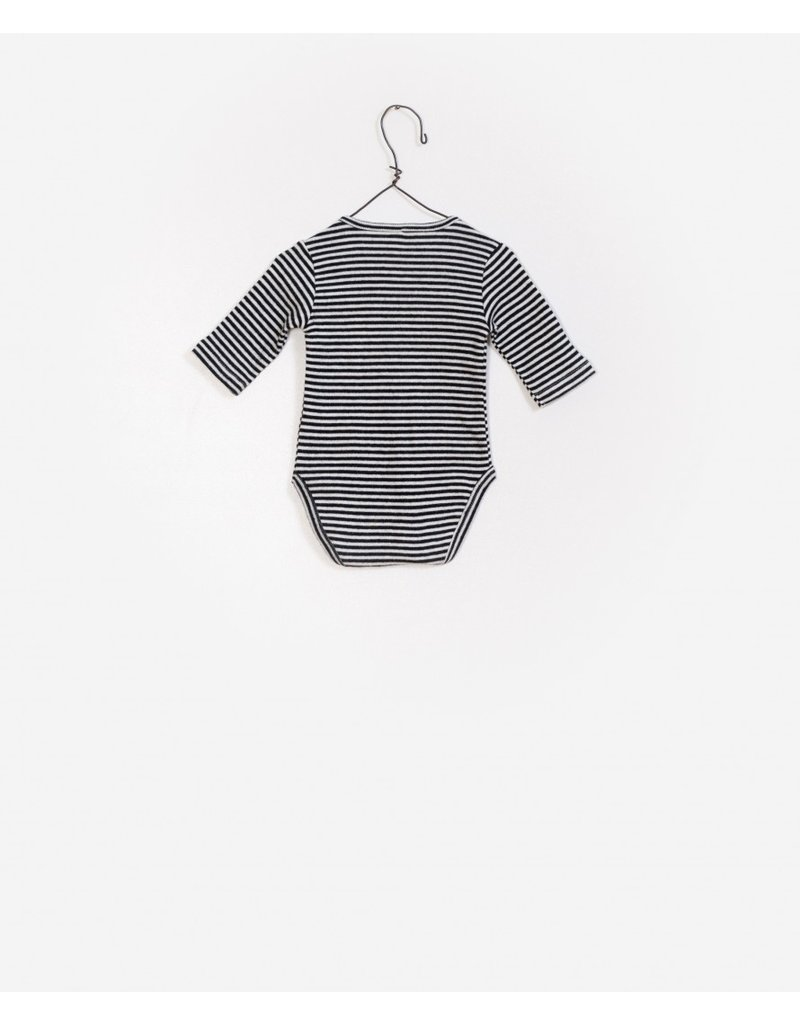 Play Up Play Up Striped Rib Bodysuit