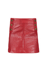 Like Flo Like Flo Girls Imi Leather Skirt- Terra