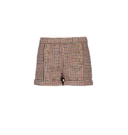 Like Flo Like Flo Girls Wool Check Short Check
