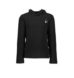 Le Chic Le Chic T-shirt glitter stretch Black