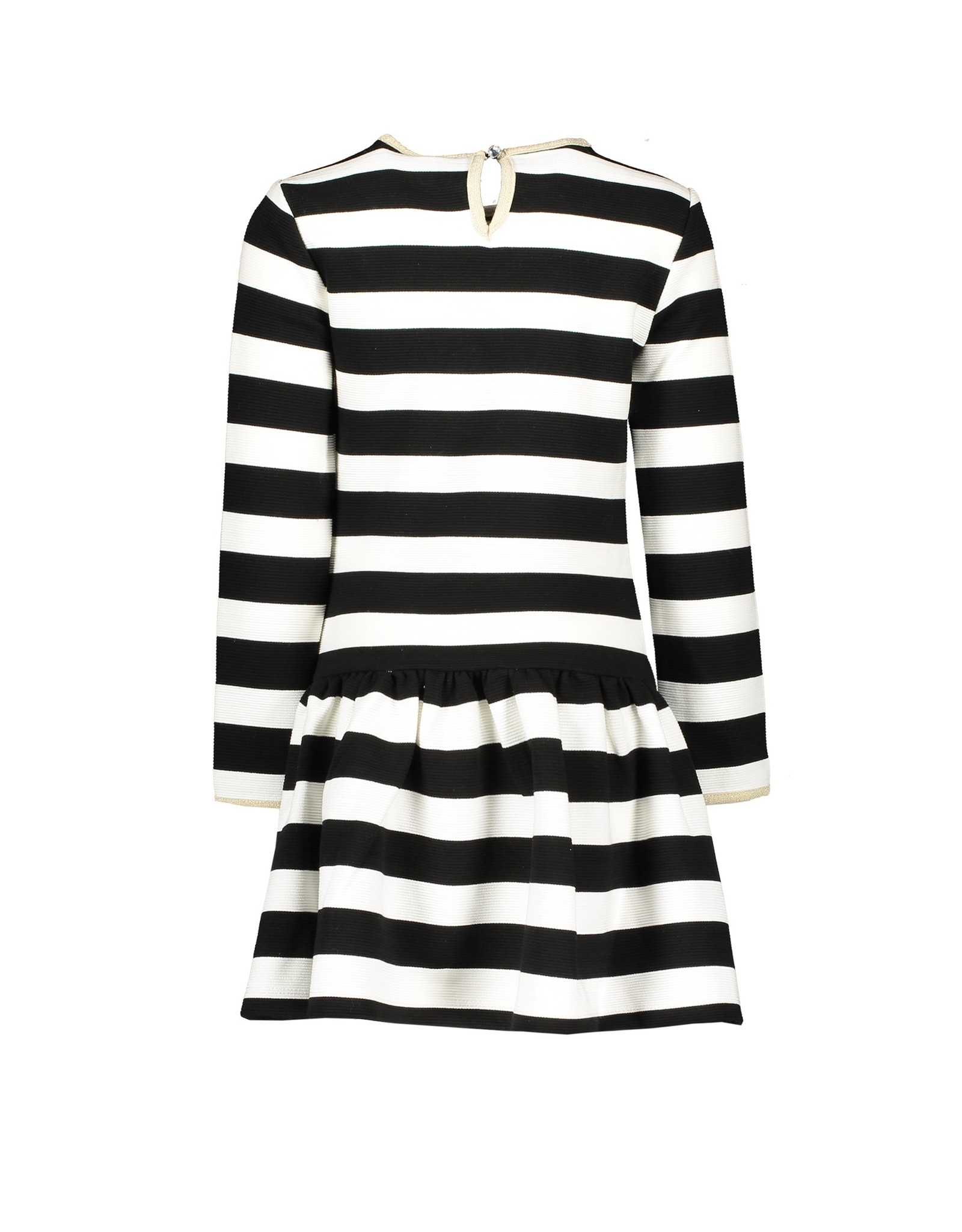 Le Chic Le Chic dress relief stripe Black