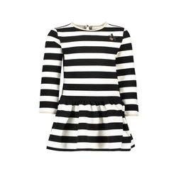 Le Chic Le Chic dress relief stripe Black