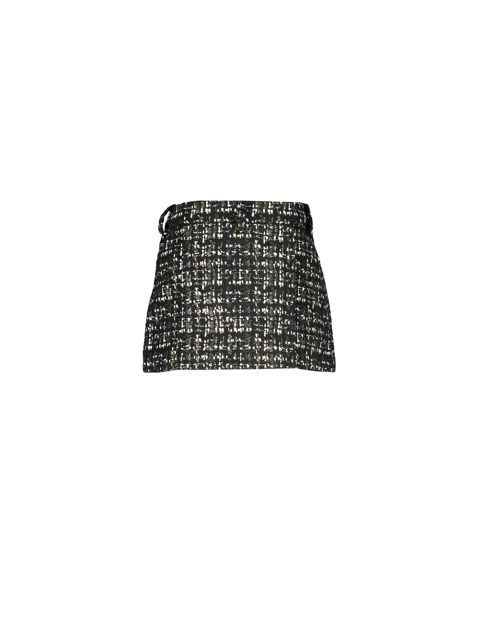 Le Chic Le Chic skirt glitter tweed Grey Iron