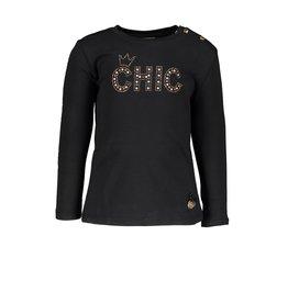 Le Chic Le Chic T-shirt CHIC Black