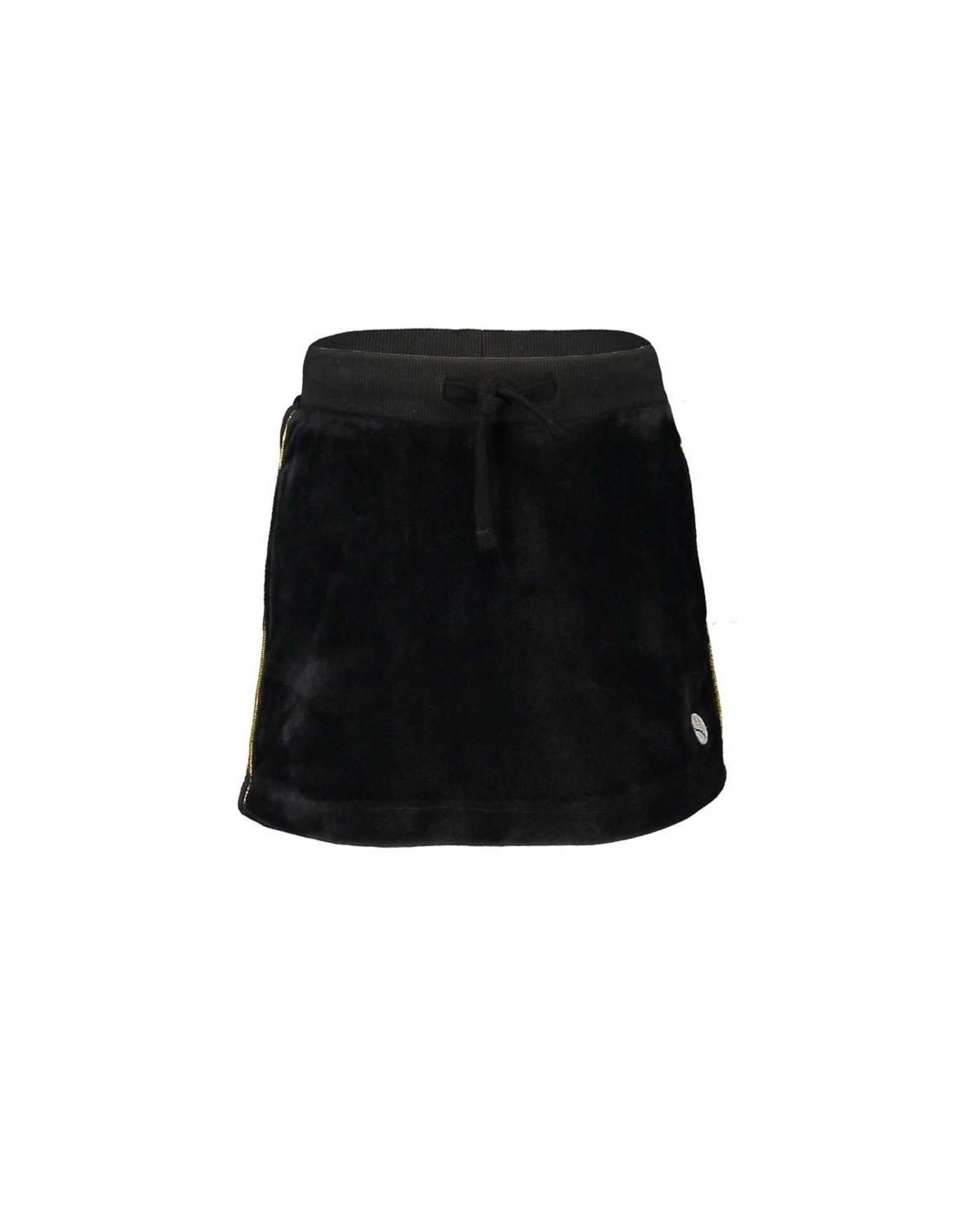 Moodstreet Moodstreet velours skirt Black - mt 146/152