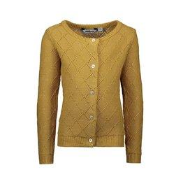 Moodstreet Moodstreet lurex cardigan Gold