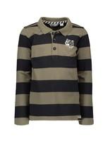 Moodstreet Moodstreet polo stripe Army