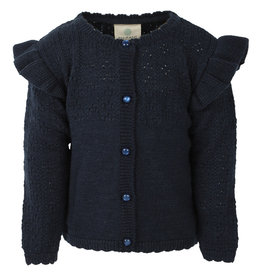 Enfant EN FANT- Knitted Cardigan-Navy