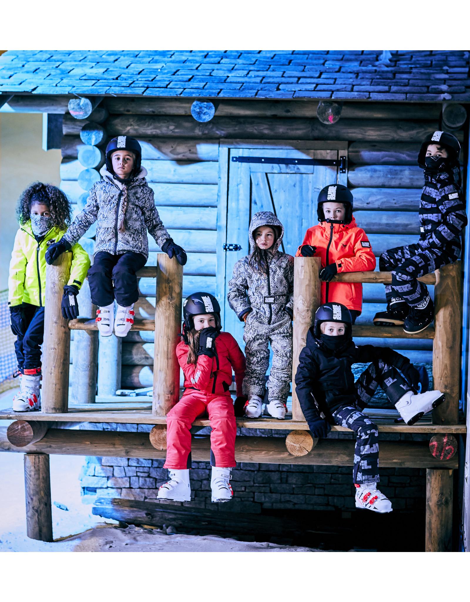 Super Rebel SuperRebel-Ski Technical Jacket AO- Natural Snake