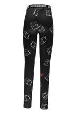 Super Rebel SuperRebel-Ski Legging- Black Devil