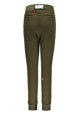 Super Rebel SuperRebel-Boys Plain Interlock Trousers-Army Green  maat 164