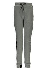 Super Rebel SuperRebel-Boys Plain Interlock Trousers-Grey Melee