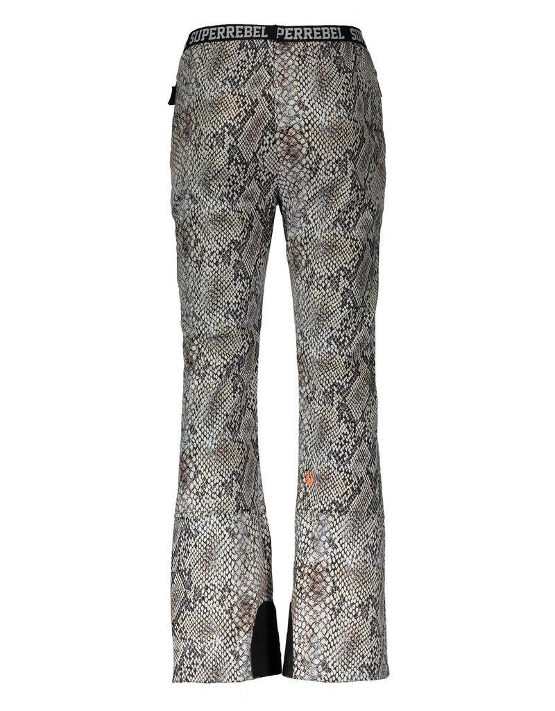Super Rebel SuperRebel-Ski Trousers Soft Shell-Natural Snake