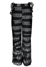 Super Rebel SuperRebel-Ski Pants AO-Tekst Black
