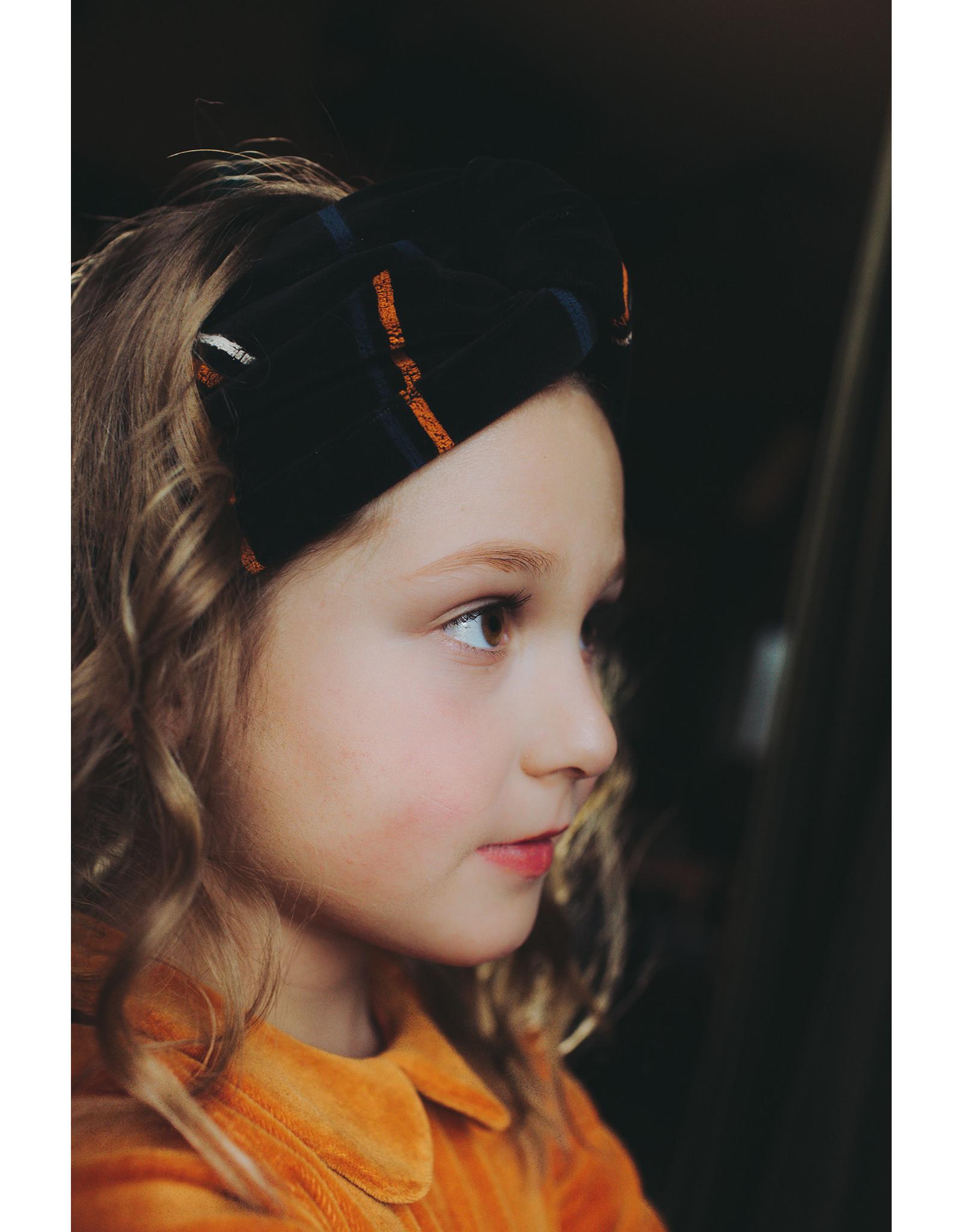 Carlijn Q Striped Twisted Headband