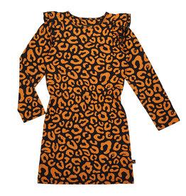 Carlijn Q Ruffled Dress Leopard