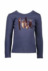 NONO NONO-Kuse D T-shirt-Navy Blazer