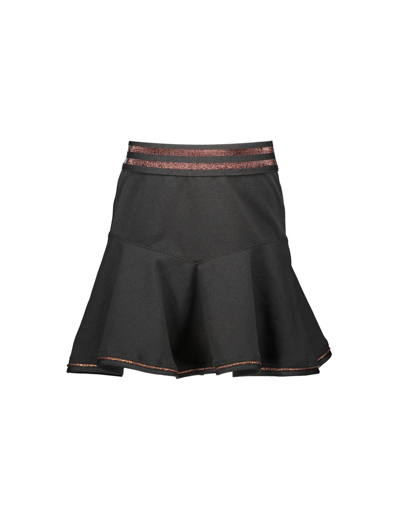 NONO NONO NoaS short crepe jersey skirt Jet Black