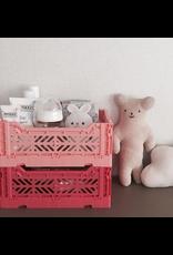 Aykasa Aykasa vouwkrat mini - Salmon Pink