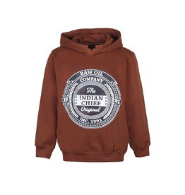 KIDS UP Kids Up Pullover Hoodie Brown