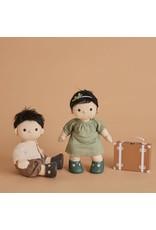 Olli Ella Olli Ella Dikum Doll Travel Togs - Rust
