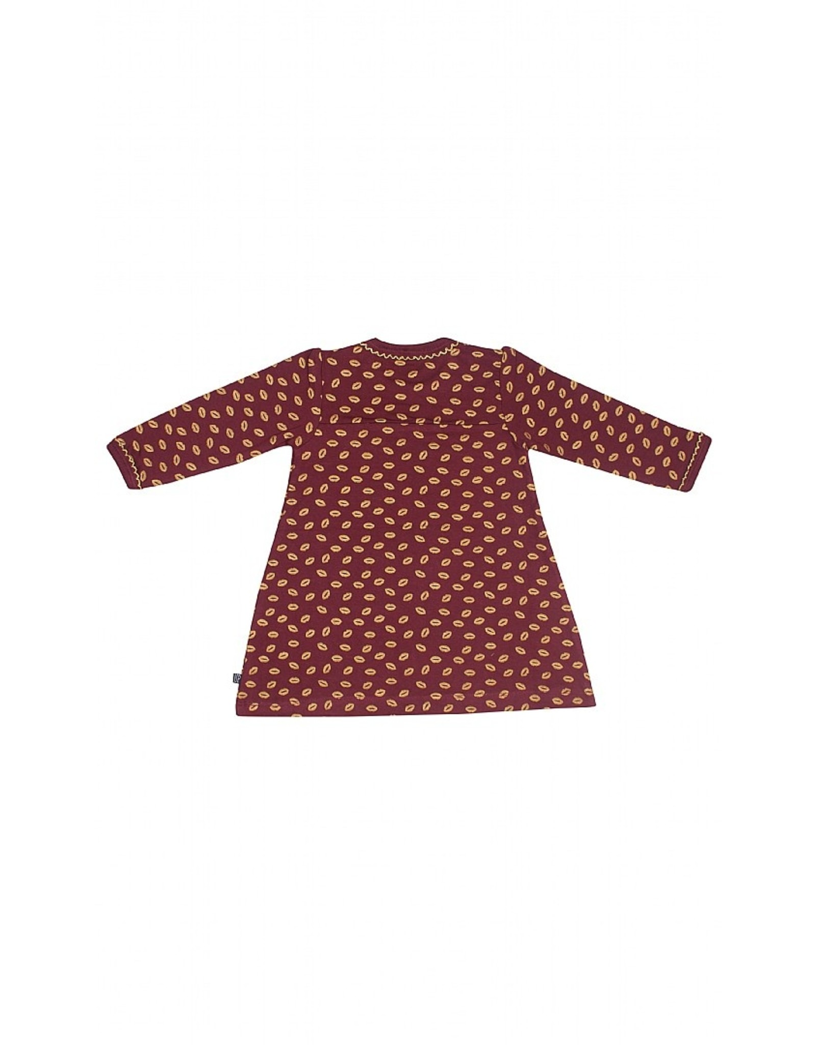 KIDS UP Kids Up Baby Dress Burgundy