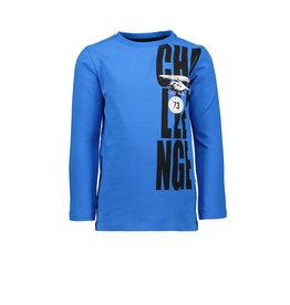 TYGO & Vito TYGO & Vito T-shirt Long sleeve CHALLENGE Neon Cobalt