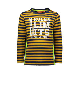 TYGO & Vito TYGO & Vito Longsleeve Stripe NO RULES NO LIMITS d.Yellow
