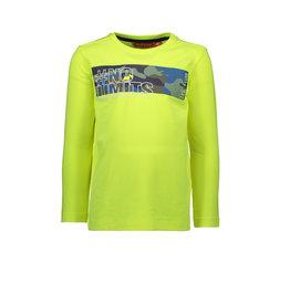 TYGO & Vito TYGO & Vito T-shirt Longsleeve insert All over print NO LIMITS Safety Yellow