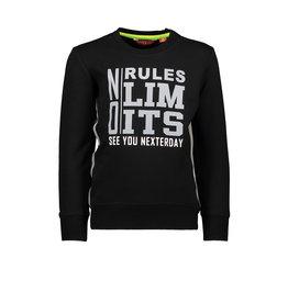 TYGO & Vito TYGO & Vito Sweater Solid NO RULES NO LIMITS Black