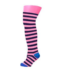 B.Nosy B.Nosy Baby Girls Maillot Stripe Shocking pink