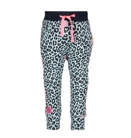 B.Nosy B. Nosy Baby Girls Sweat Pants with Panther Kiss AO